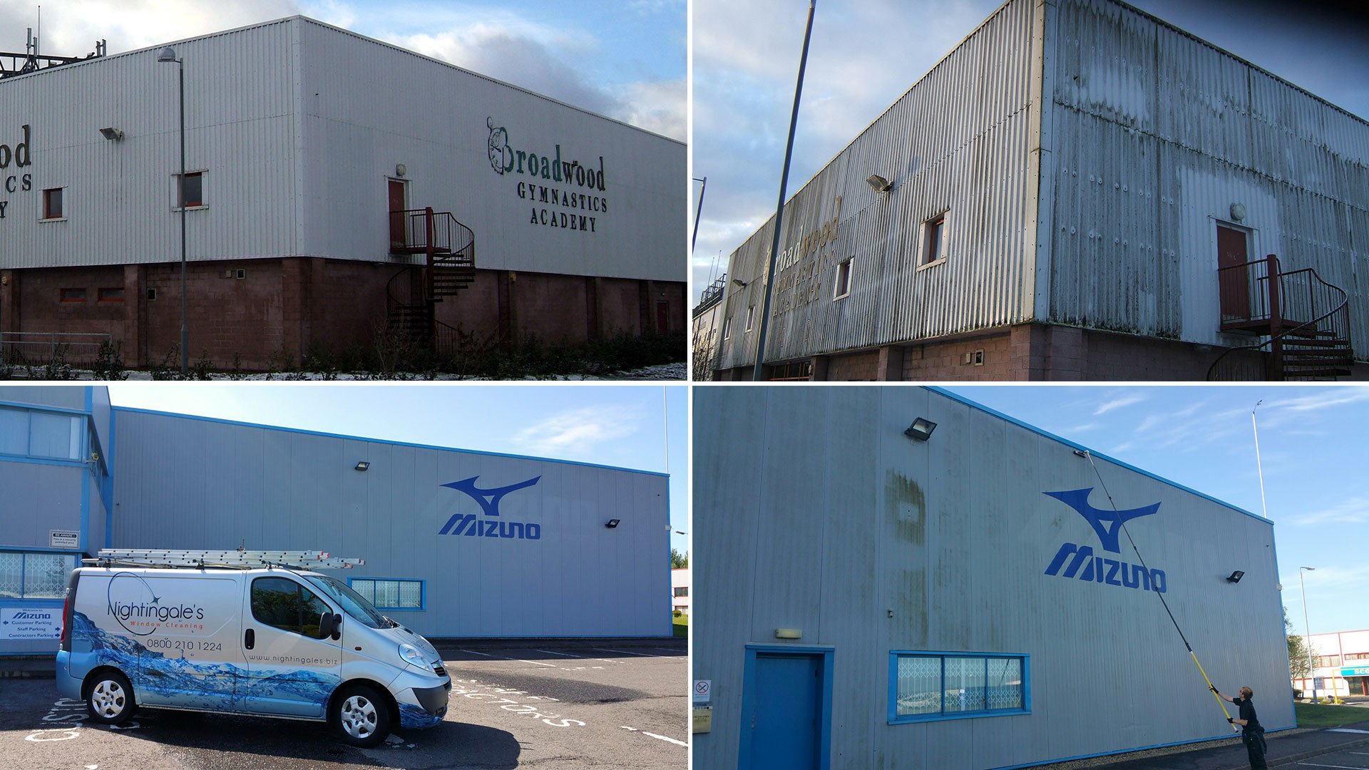 Industrial Cladding Cleaning